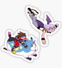 Sora & Riku- Spirits Sticker