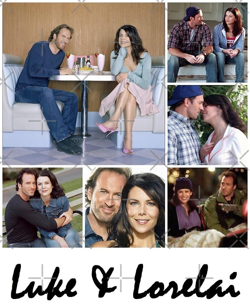 Luke & Lorelai by sammyniki92