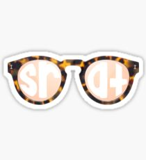 Srat Glasses Sticker
