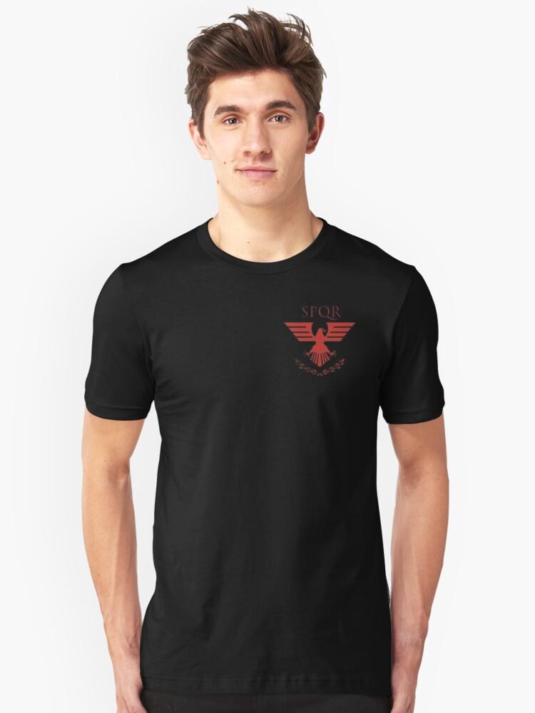 Roman logo Unisex T-Shirt Front