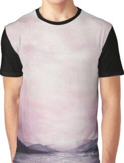 Dusk - Watercolor Graphic T-Shirt