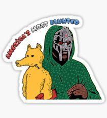 America's Most Blunted - DOOM & QUAS Sticker