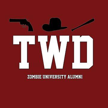 Zombie University Alumni by therealcrybaby