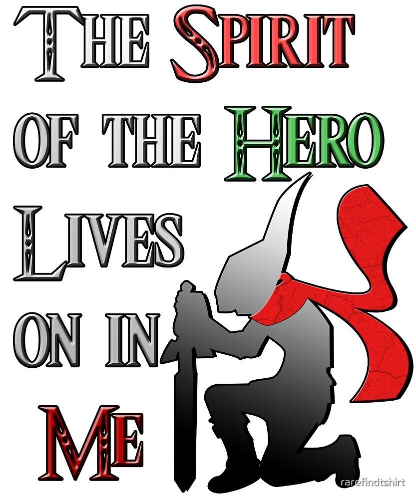Spirit of the Hero _Legend Of Zelda by rarefindtshirt