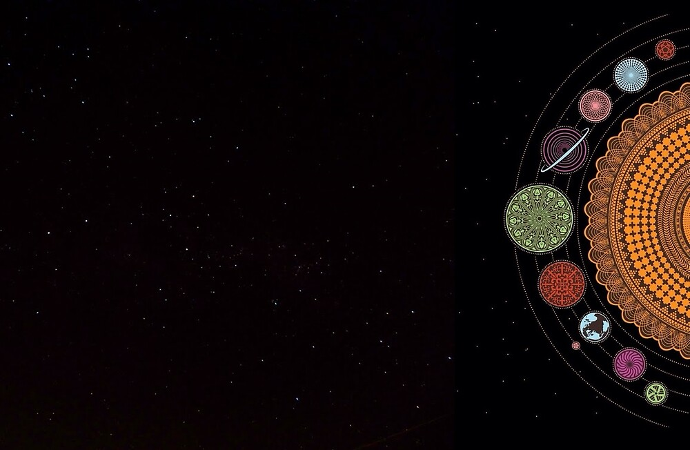 The Planets by Rabiscoempalta