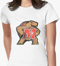Galaxy University of Maryland Women s Fitted T-Shirt 241744838