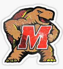 Galaxy University of Maryland Sticker