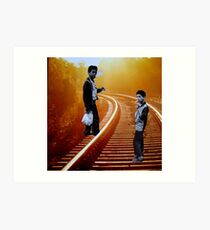 Railroad Rebels Art Print