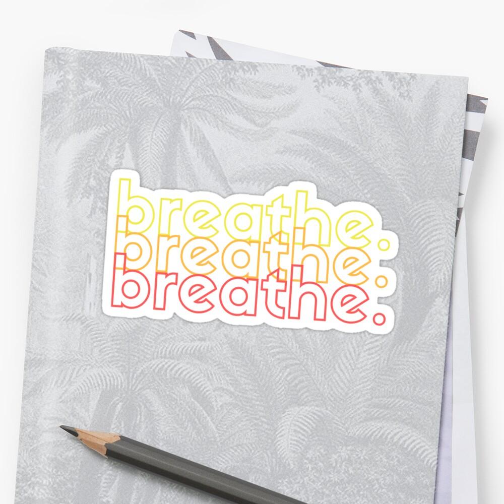 breathe. by peepsandwich