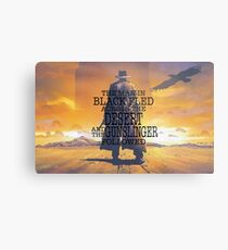 The Gunslinger Metal Print