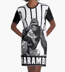 harambe Graphic T-Shirt Dress