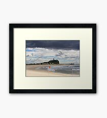 Nobby Beach Lighthouse Newcastle  Framed Print