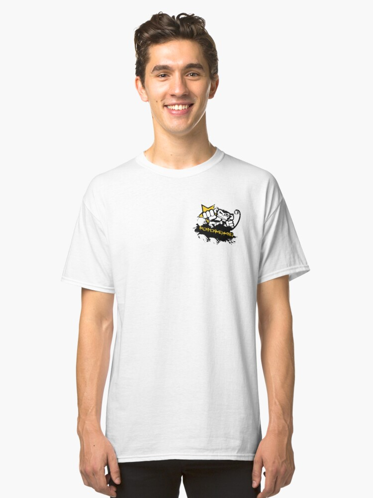 punching monkey Classic T-Shirt Front
