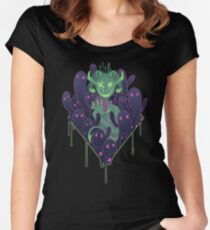 With A Heavy Heart Women's Fitted Scoop T-Shirt