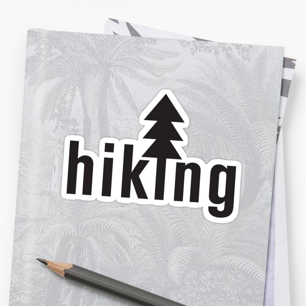 Hiking - Hike Sticker by ericbracewell