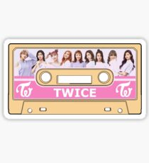 Twice - Cassette Sticker