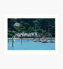 Salcombe Harbour, Salcombe, England Art Print