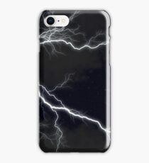 Black Lightning  iPhone Case/Skin