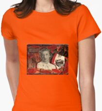 The Case of  the Curious Collage-A Nancy Drew Tribute. T-Shirt