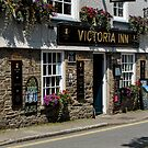 Victoria Inn, Salcombe, England by fotosic