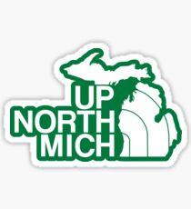 Up North Mich Sticker