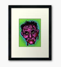 Pink Zombie Framed Print