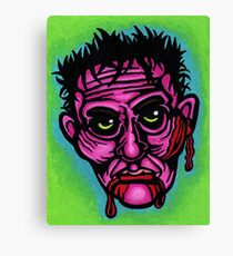 Pink Zombie Canvas Print