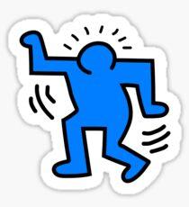 Keith Haring Figure Sticker