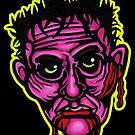 Pink Zombie - Die Cut Version by Montia Garcia