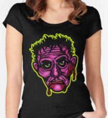 Pink Zombie - Die Cut Version Fitted Scoop T-Shirt