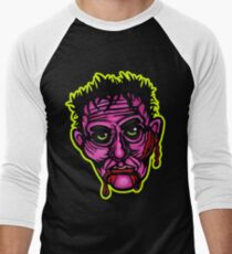 Pink Zombie - Die Cut Version Men's Baseball ¾ T-Shirt