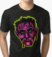Pink Zombie - Die Cut Version Tri-blend T-Shirt