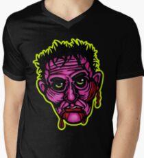 Pink Zombie - Die Cut Version V-Neck T-Shirt