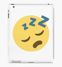 Sleeping Emoji iPad Case/Skin