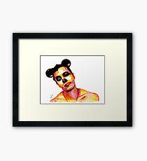 Mickey Man Framed Print