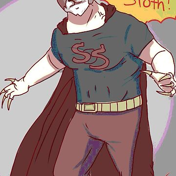 Super sloth  by Sirdom