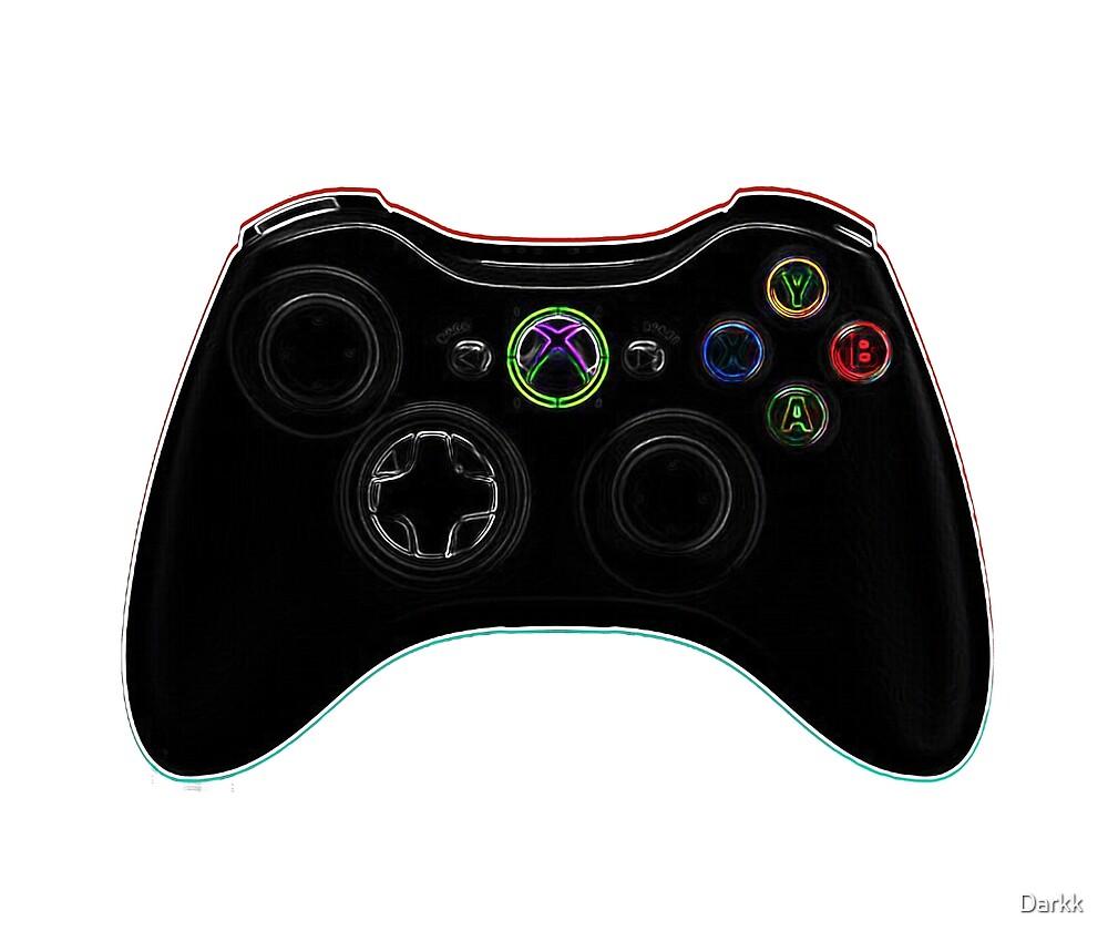 Dark Game Controller Gear by Darkk