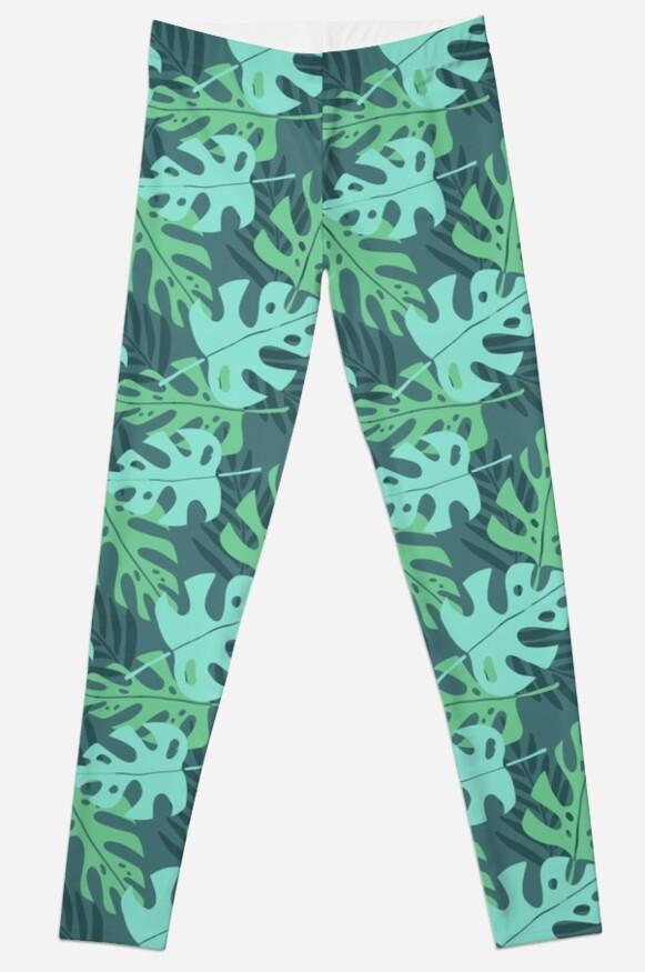 Tropical leafs pattern by kondratya
