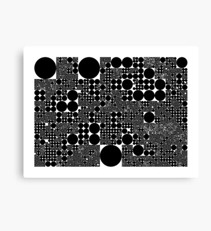 "Dividing Circles"" by Martin Melcher Canvas Print"