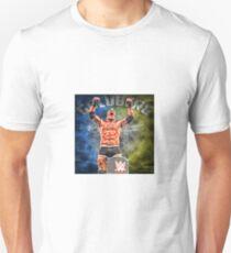 Goldberg After beating Lesnar Unisex T-Shirt