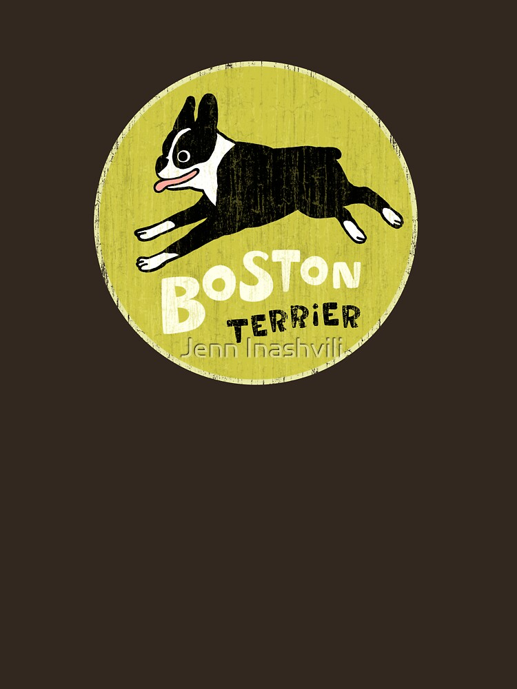 Vintage Style Boston Terrier by ShortCoffee