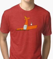 """""""The Ground Was Harder Than I Thought"""" Tri-blend T-Shirt"""