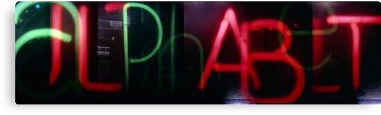 Alphabet by Syd Winer