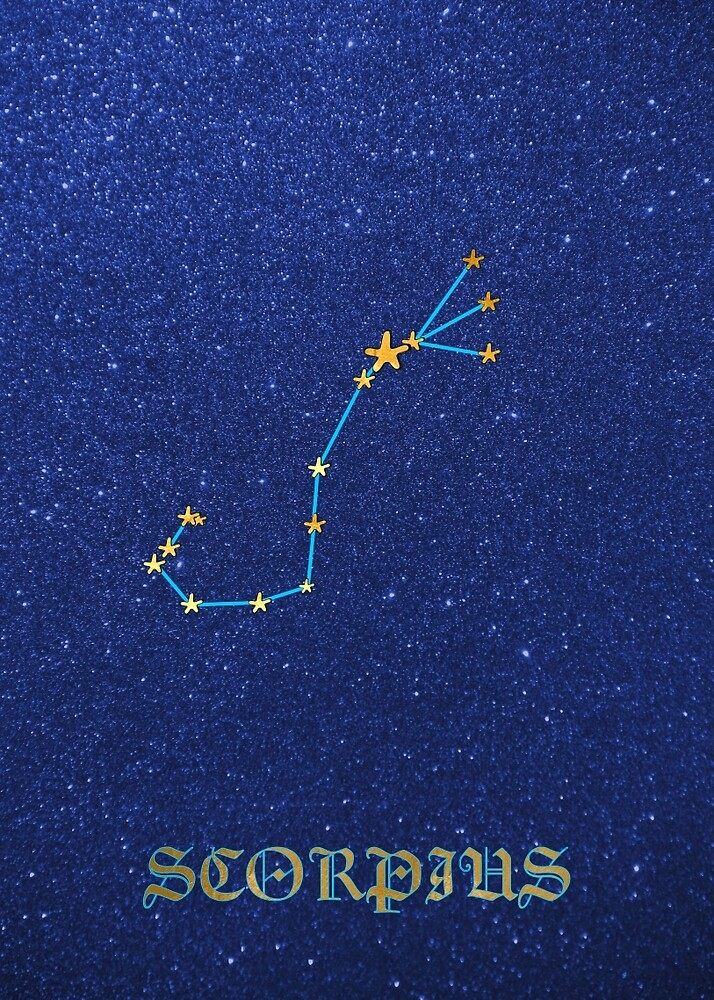 Constellations - SCORPIUS by Hell-Prints