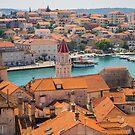 Rooftops of Trogir, Croatia. by naranzaria