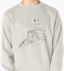 To The Moon Lighthouse Pullover
