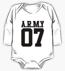 BTS/Bangtan Boys Army 07 One Piece - Long Sleeve