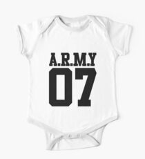BTS/Bangtan Boys Army 07 Kids Clothes