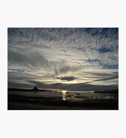 Holy Island Photographic Print