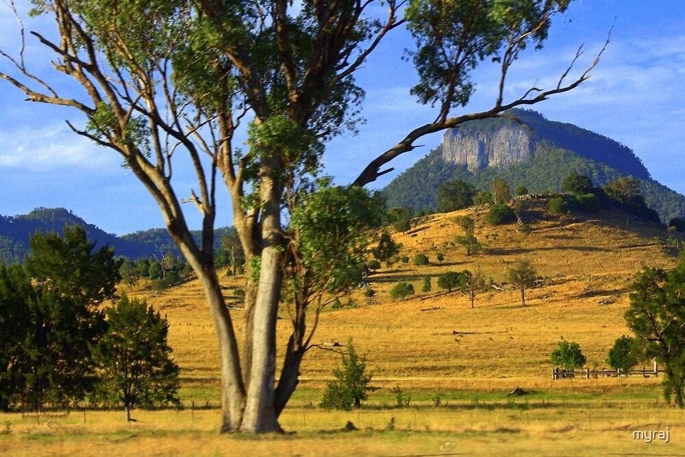 Mount Kaputar by myraj
